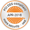 PCI-DSS compliant - APR-2018 - more security